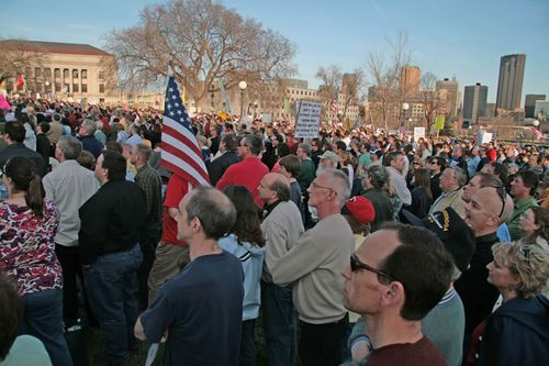 Tea Party Protesters